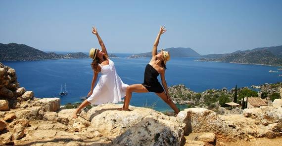 Yoga Cruise Türkei Retreat athayoga Carolina Fischer