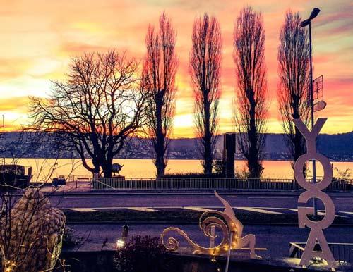 Sunset athayoga Zollikon