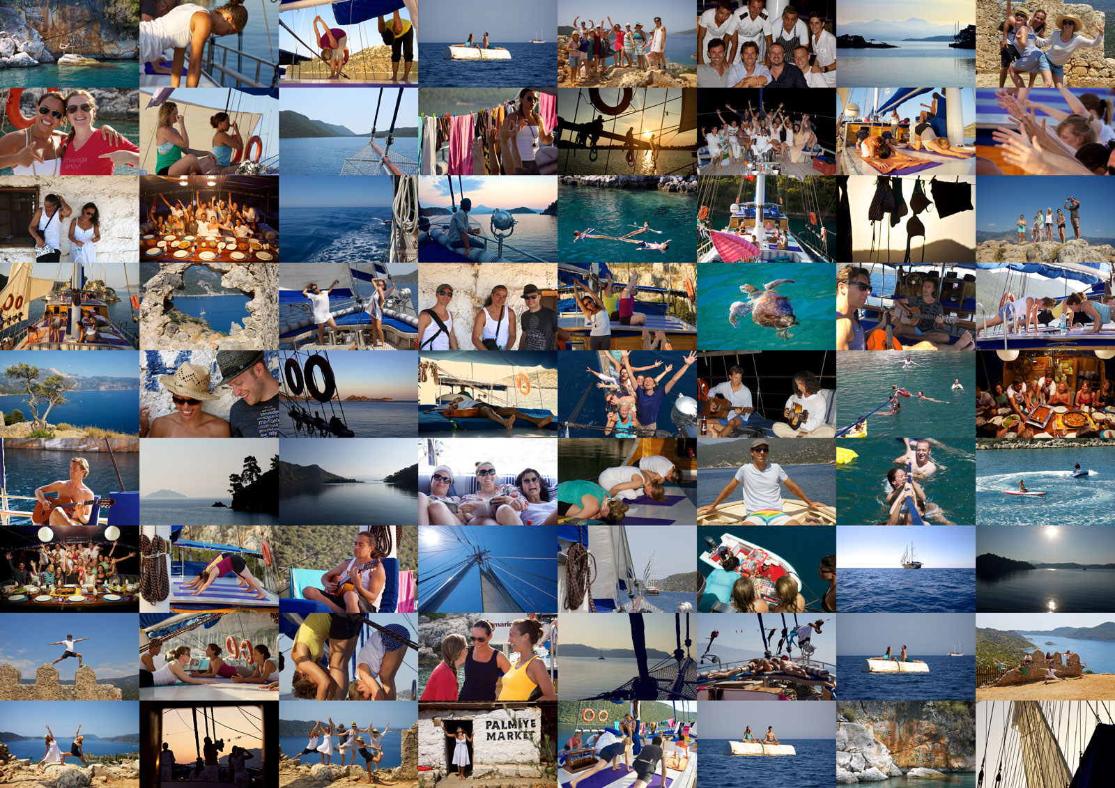 Yoga Cruise | Samstag, 25. Juni – Samstag, 2. Juli 2016