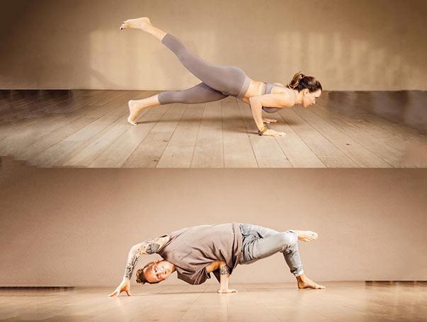 Breakletics meets Yoga