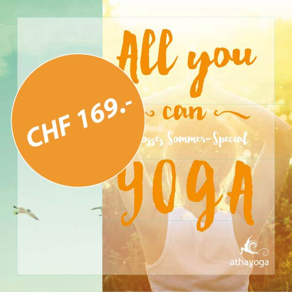 All you can Yoga | CHF 169.-