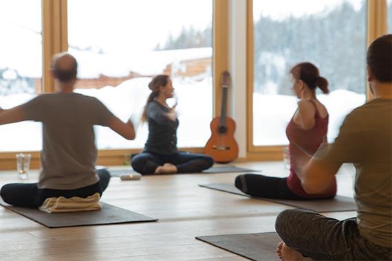 Yogaweekend Nira Alpina