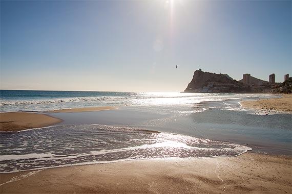 Yogaferien Spanien Meer