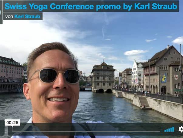 MEET KARL STRAUB @ SWISS YOGA CONFERENCE