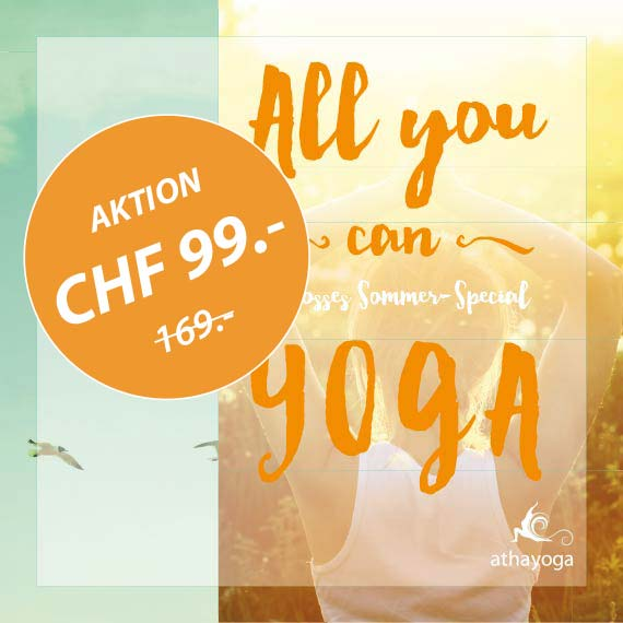 All you can Yoga | Ab CHF 99.-