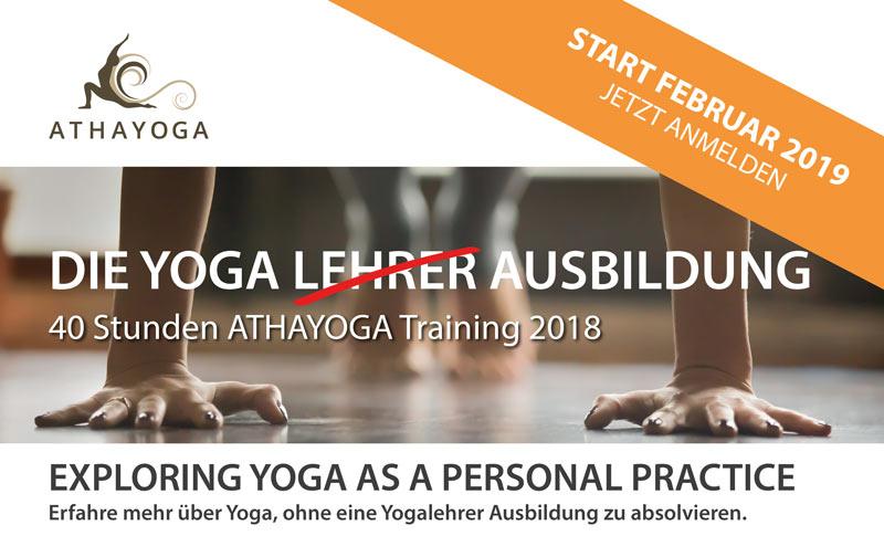 Yoga Ausbildung 2019