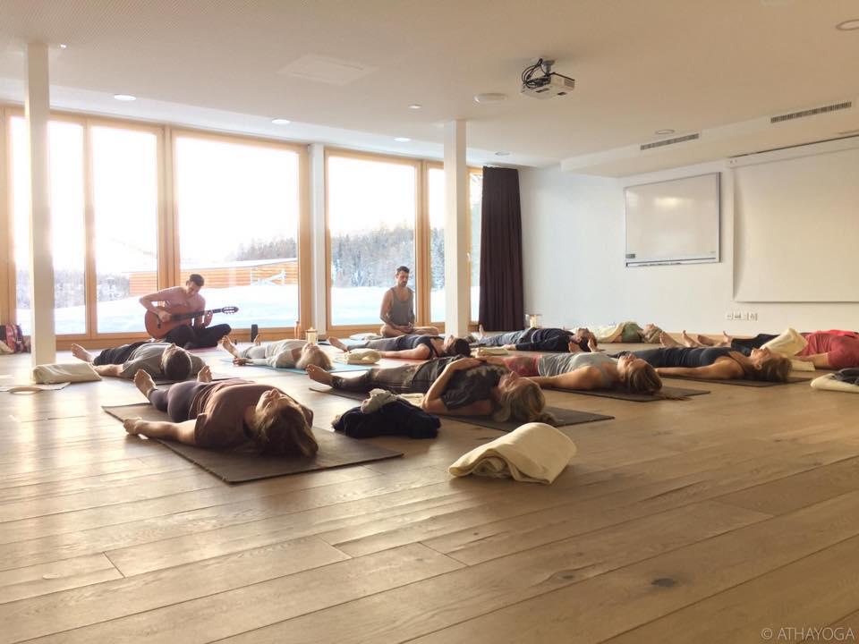 Yogaweekend Engadin