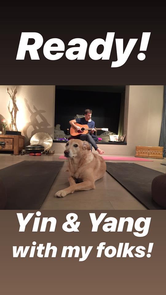 Yina Yang with Mila